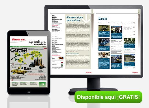 Portada de la revista INTEREMPRESAS AGRICULTURA Y GANADERÍA 121