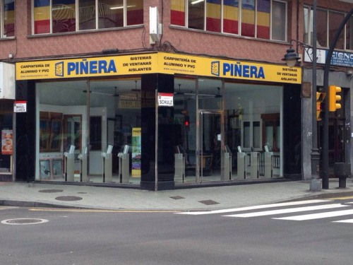 Carpintería Aluminio PVC, Piñera, S.L.