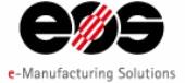 Logotipo de EOS GmbH - Electro Optical Systems