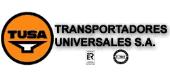Logotipo de Transportadores Universales, S.A. (TUSA)