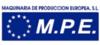 Logotipo de Maquinaria de Producción Europea, S.L. (MPE)