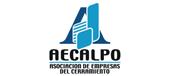 Logotipo de Asociación de Empresas del Cerramiento de Galicia (AECALPO)