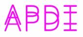 Logotipo de Asociación Profesional de Diseñadores de Iluminación (APDI)
