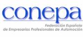 Logotipo de Federación Española de Empresarios Profesionales de Automoción (CONEPA)