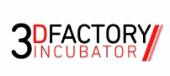 Logotipo de 3D Factory Incubator | High-Tech Business incubator