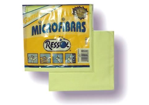 Foto de Gamuzas de tejido de microfibras