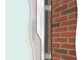 Revestimientos para fachadas con montantes knauf w682 - Materiales de construccion para fachadas ...
