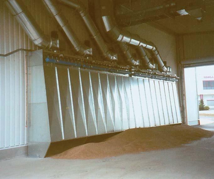 Foto de Sistema de extracción de polvo