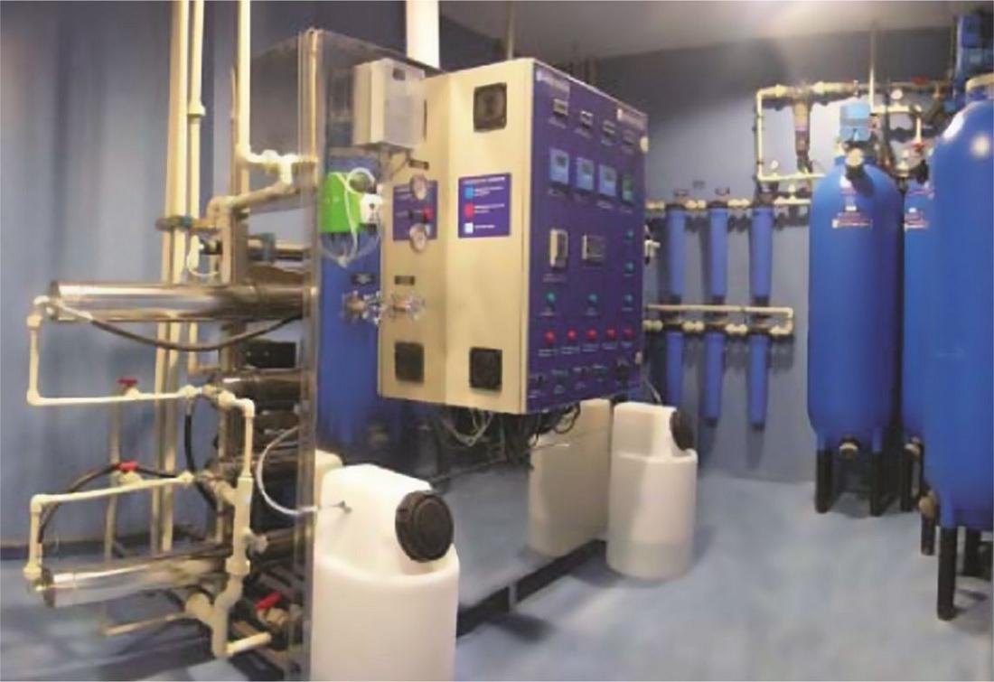 Foto de Plantas de purificación de agua por osmosis inversa