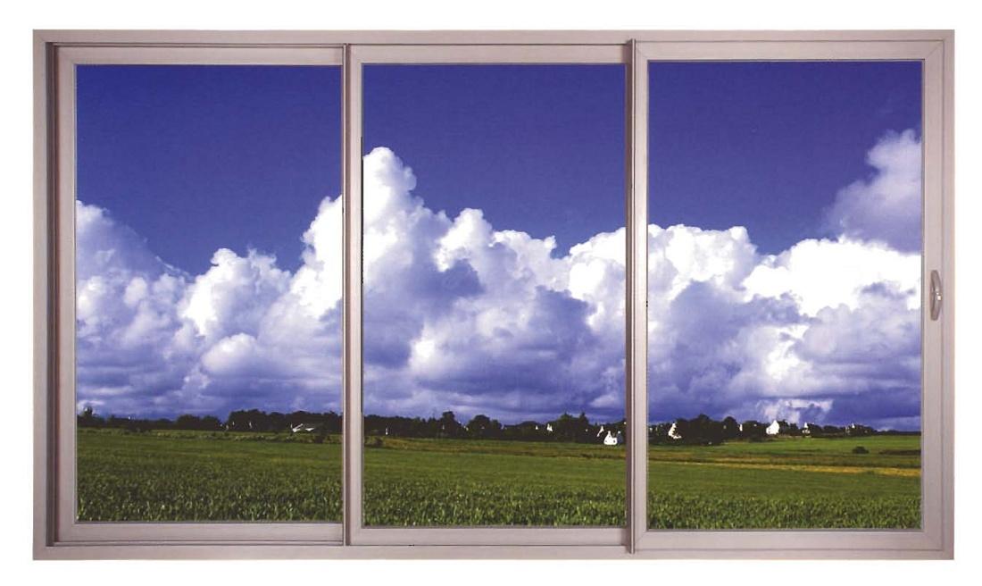 Serie corredera para ventanas y puertas. Las ventajas de un sistema ...