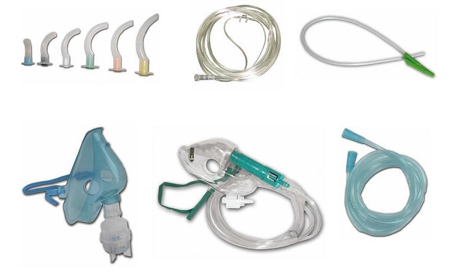 Foto de Equipos desechables para oxigenoterapia