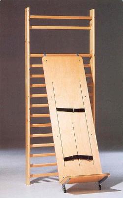 Foto de Plano inclinado adaptado para espaldera