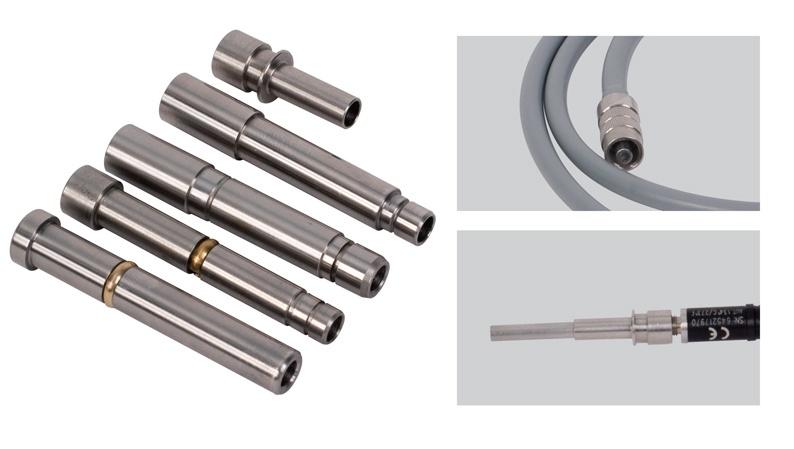 Foto de Adaptadores para cable de fibra óptica y endoscopios
