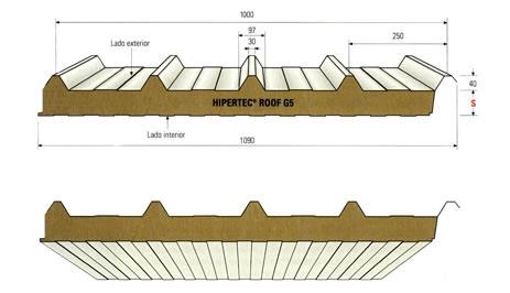 Foto de Paneles metálicos para cubiertas