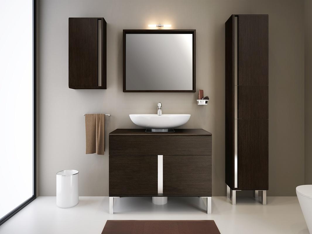 Muebles de ba o grupo sonimobel new mobel materiales - Muebles de bano para lavabo con pie ...
