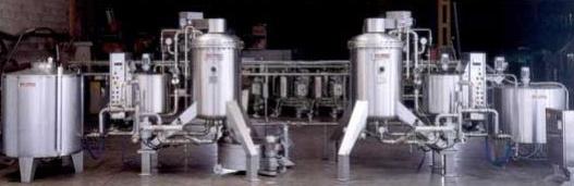 Foto de Maquinaria para la producción de cerveza