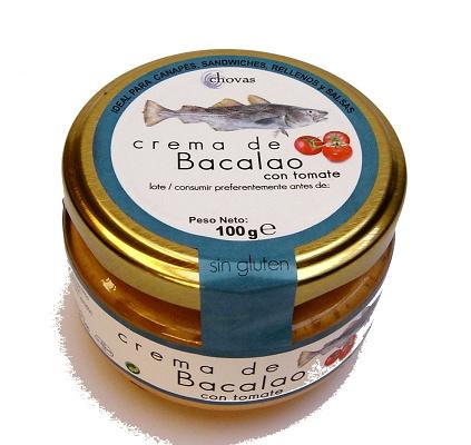 Foto de Crema de bacalao con tomate