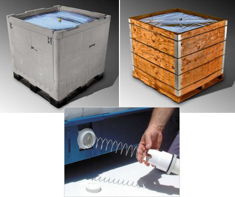 Foto de Embalajes IBC para transporte de líquidos
