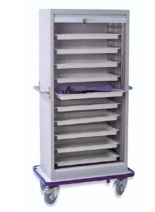 Foto de Cabina de almacenaje móvil para endoscopios
