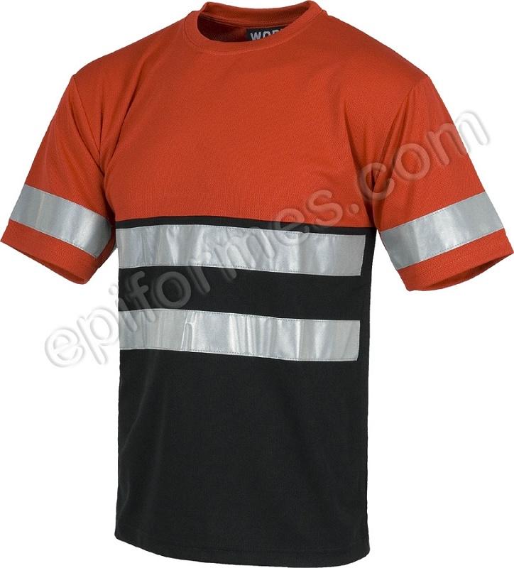 Foto de Camiseta con bandas reflectantes