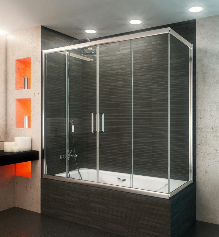 Mamparas para ba o angra berna 2p 3f ang materiales para for Mamparas para duchas fotos