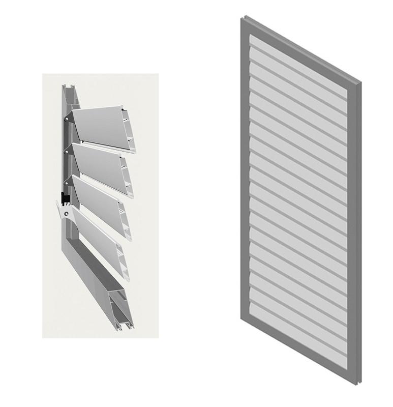 Celos as de aluminio angra menorca s 25 medina - Celosias de aluminio ...