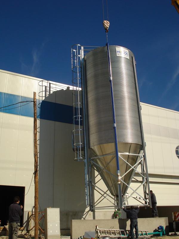 Foto de Silos para biomasa