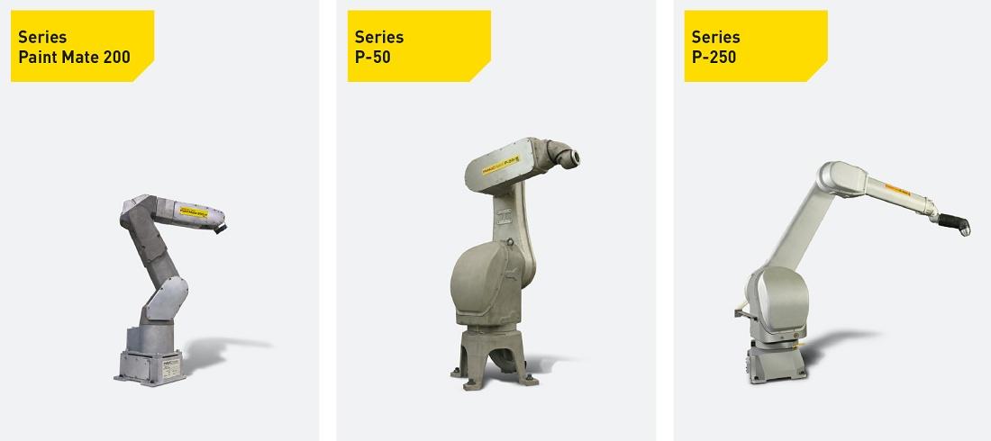 Paint Robot series Paint robots - Storage and logistics - Paint