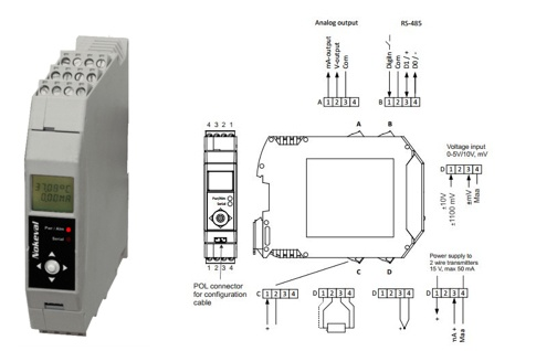 Foto de Transmisor universal de temperatura y procesos