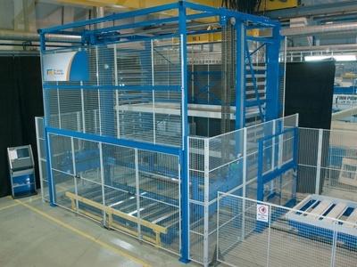 Foto de Sistema flexible de alimentación de material