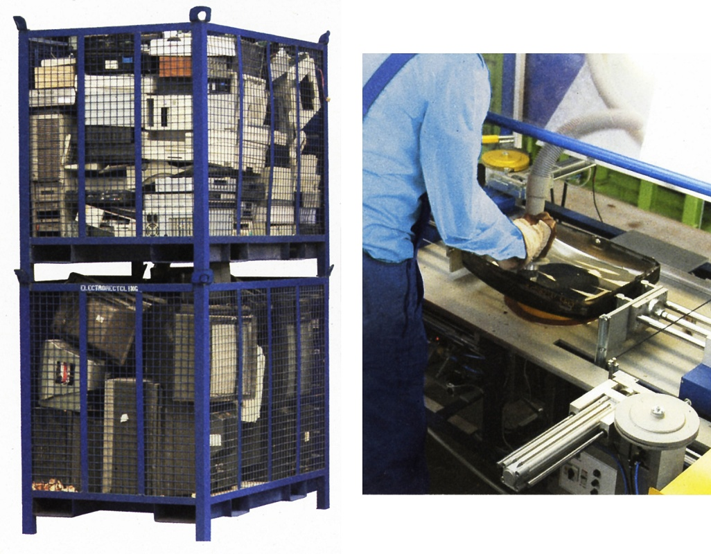 Foto de Separación de residuos eléctricos y electrónicos