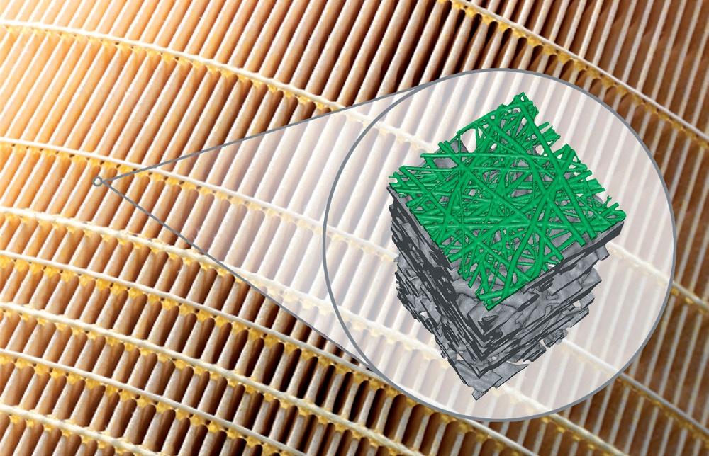 Foto de Filtros de aire con recubrimiento de nanofibra