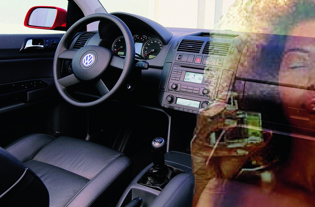 """Foto de """"Asientos de automóvil de cuero con olor a Caribe"""""""