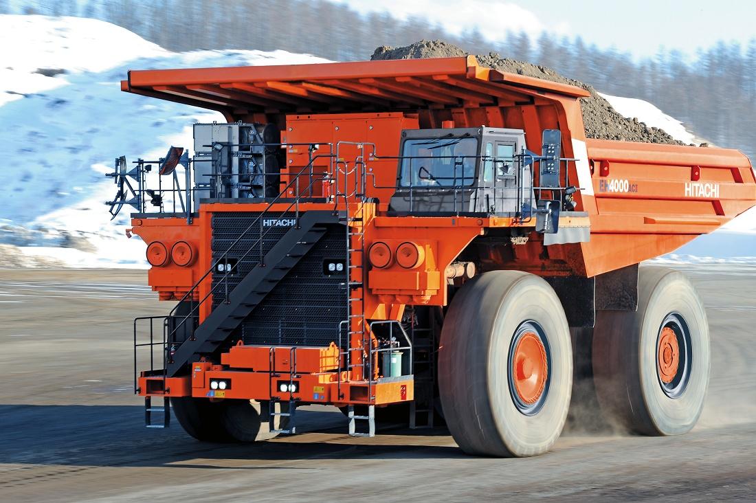 Foto de Camión volquete rígido de gran capacidad