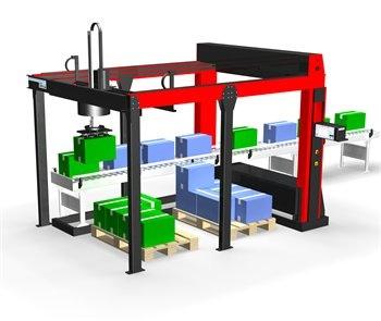 Foto de Robot paletizador modular