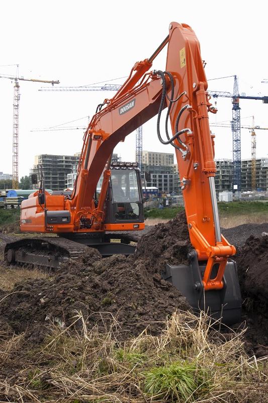 Foto de Excavadoras de orugas