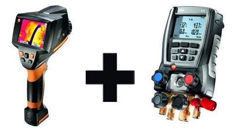 Foto de Kit de cámara termográfica y medidor del valor U
