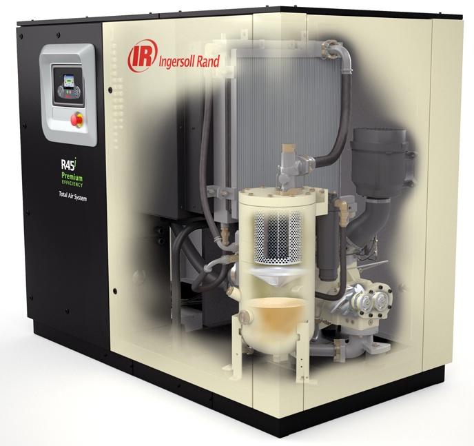 Foto de Compresores de tornillo lubricado