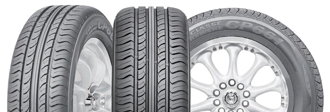 Foto de Neumáticos antideslizantes sobre mojado