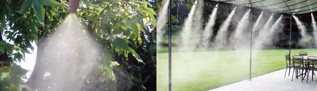 Foto de Sistema para nebulizar y refrescar