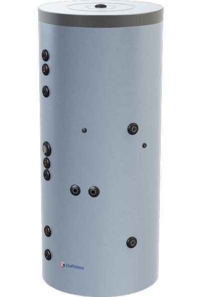Foto de Interacumuladores verticales de suelo con monoserpentín