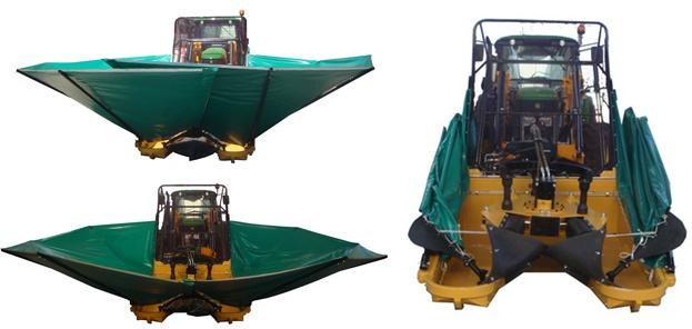 Foto de Plataforma recolectora para vibradores de olivos