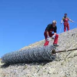 Foto de Mallas de cables en espiral