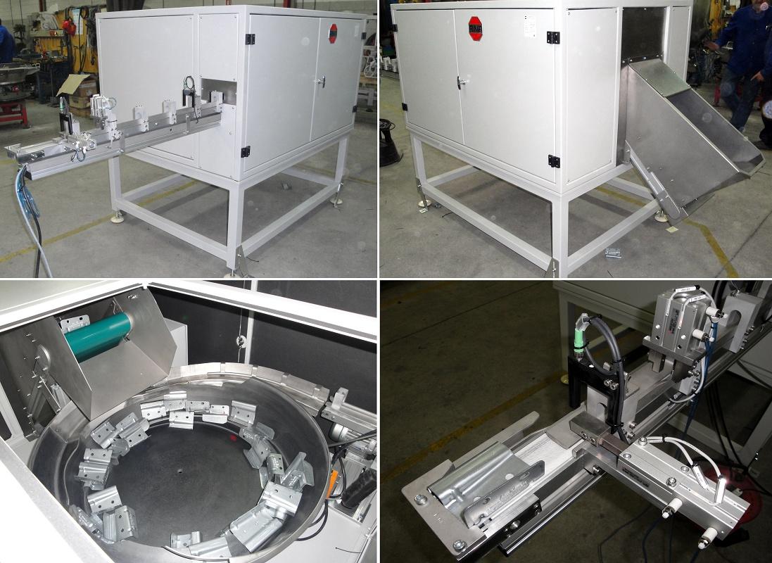 Foto de Alimentador de anclajes metálicos de grandes dimensiones