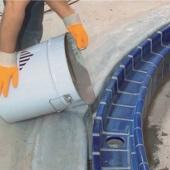 Foto de Mortero de relleno y barrera de agua