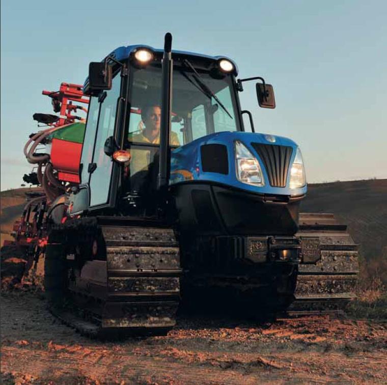 Foto de Tractores de orugas convencionales