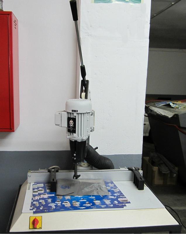Foto de Perforadoras de broca vacía