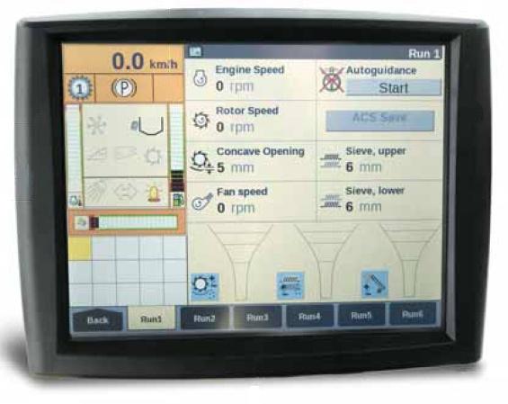 Foto de Monitores para aplicaciones agrícolas