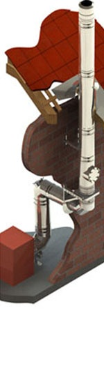 Foto de Chimeneas de doble pared