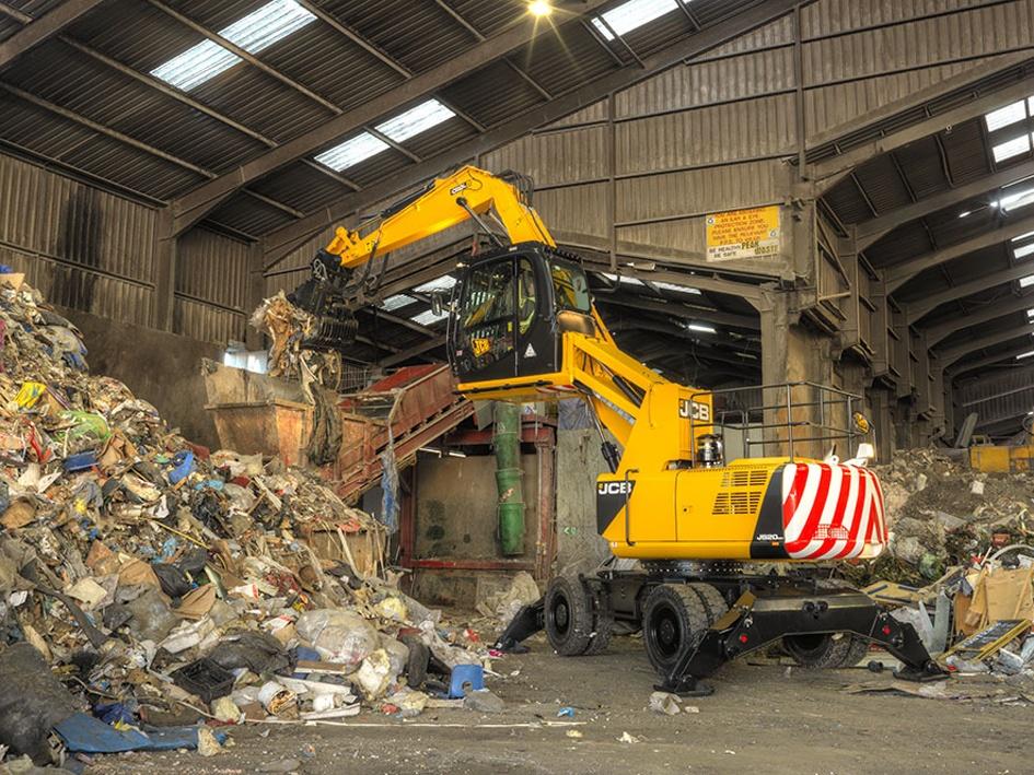 Foto de Manipuladora de materiales para el sector residuos